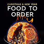 Orange and prosecco Christmas pudding