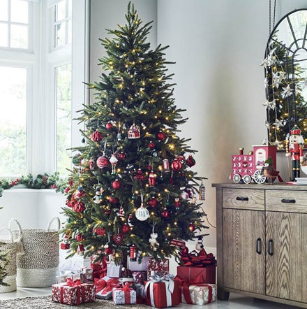 Christmas decorations marks and spencers - Marks and spencer living room ideas ...
