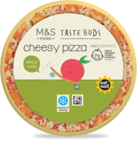 M&S Taste Buds Cheesy Pizza