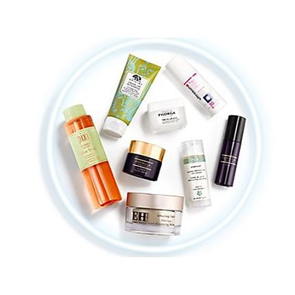 Selection of much-loved beauty products