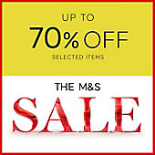 Shop M&S sale
