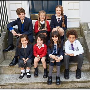Children wearing a selection of M&S uniform