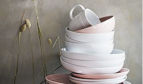 Stack of crockery