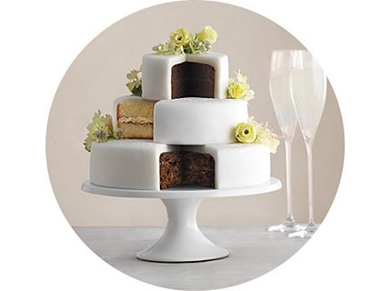 First Choose A Traditional Or Modern Cake
