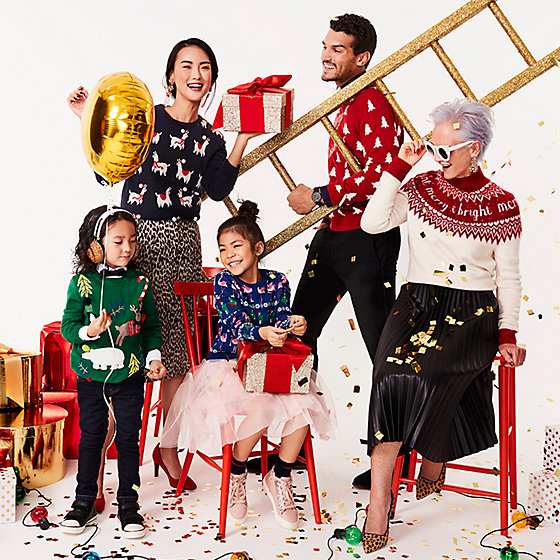 05abaf069e90 Christmas jumpers for all the family