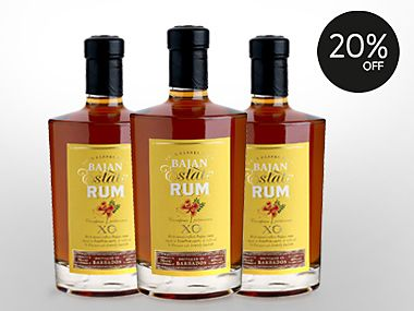 20% off selected spirits