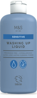 Sensitive Washing Up Liquid