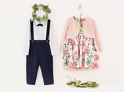 Kids' occasion outfits