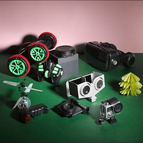 Selection of gadgets for Christmas