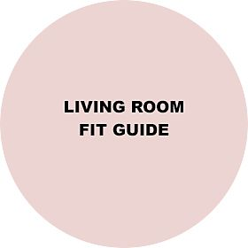 Living room furniture fit guide