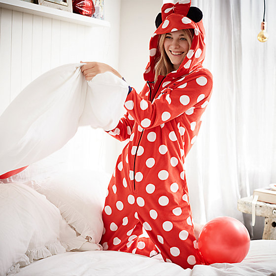 The Minnie Mouse onesie