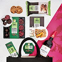 Chocolate and alcohol gift box