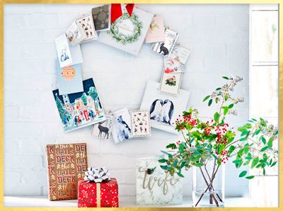 Get creative with Christmas cards