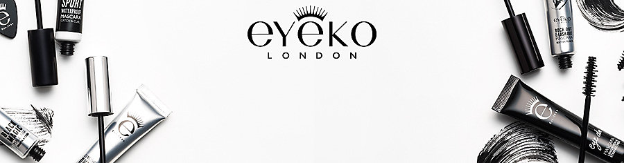 Image of model wearing Eyeko makeup