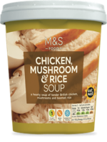 M&S Chicken, Mushroom & Rice Soup