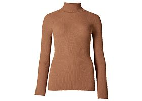 M&S ribbed polo neck