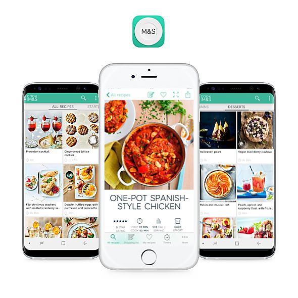 Cook with M&S app