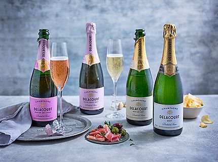A selection of champagne