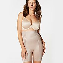 Almond Firm Control Waist & Thigh Sculpt™ No VPL Cincher