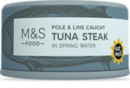M&S Canned Tuna Steak