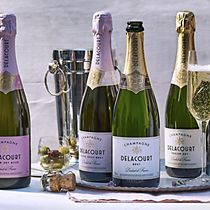 Delacourt wines and champagnes