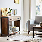 Baltimore wooden console table in living room