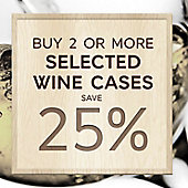 Buy four or more cases save 25% banner