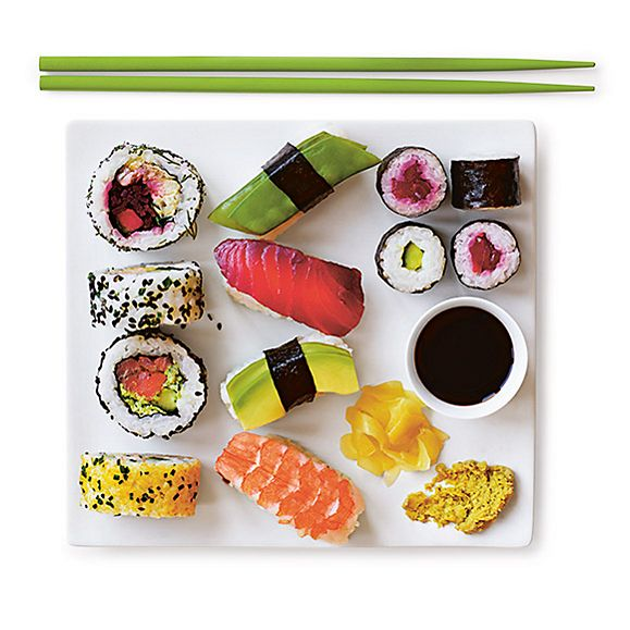 Introducing the new sushi range from M&S