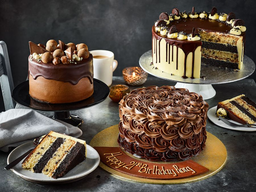 Order a delicious cake online, collect in store