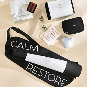 Selection of wellness gifts