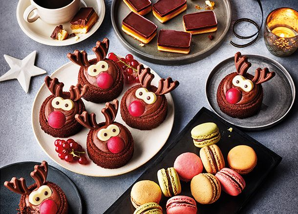 A selection of Christmas sweet treats