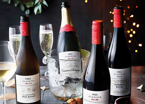 A selection of Classics wines