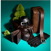 Various leather luxury gifts