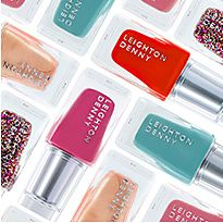 Selection of Leighton Denny nail polish