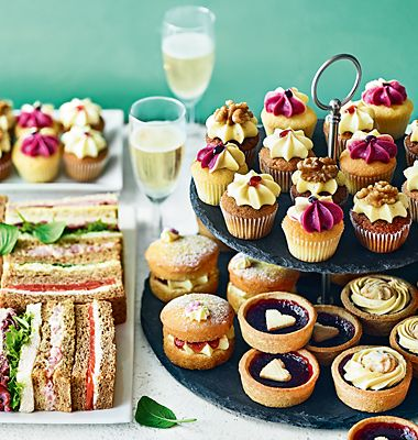 Host a fuss-free afternoon tea