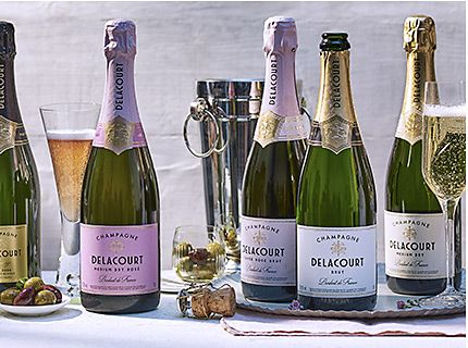 1/3 off Delacourt champagne