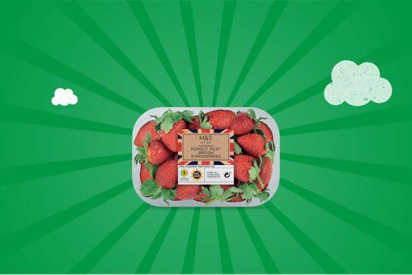 M&S Perfect Pick British Strawberries