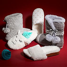 Selection of women's slippers