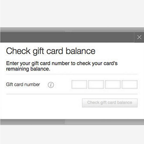 gift card balance static content m s