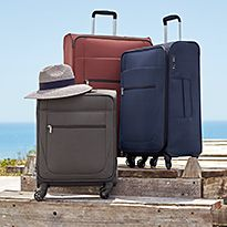 Suitcases and luggage
