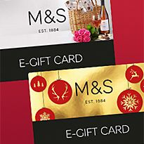 M&S E-gift cards
