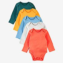 M&S multipack baby bodysuits