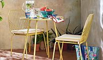Miami garden table and chairs