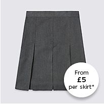 M&S school skirt