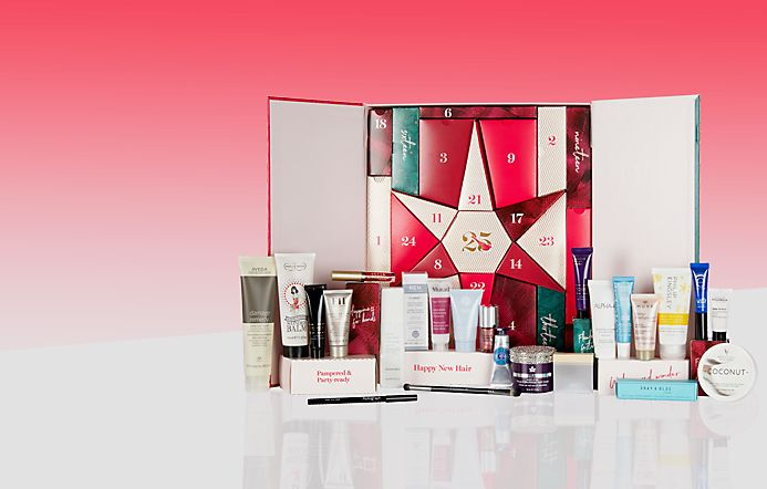 Beauty Advent Calendar contents