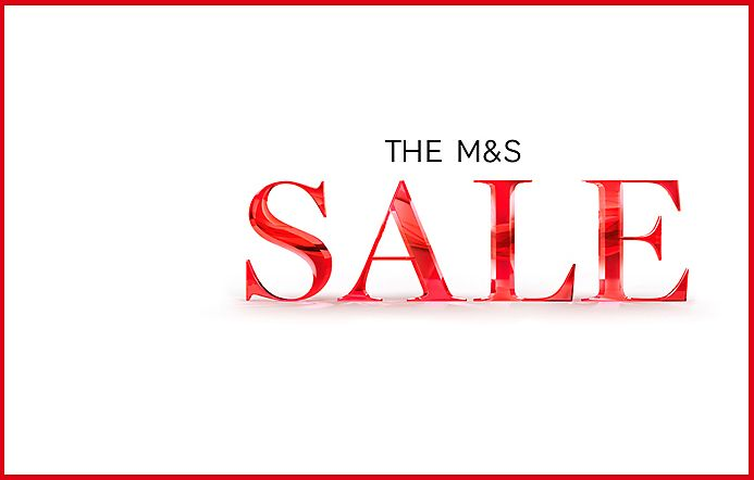 The M&S Sale banner