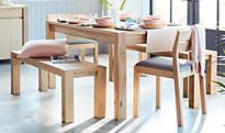Albany extending dining table and chairs
