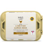 M&S British Large Eggs