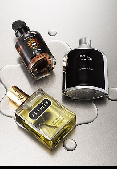 Various men's fragrances