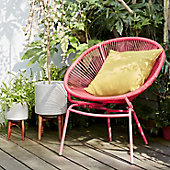 Lois garden chair with cushion